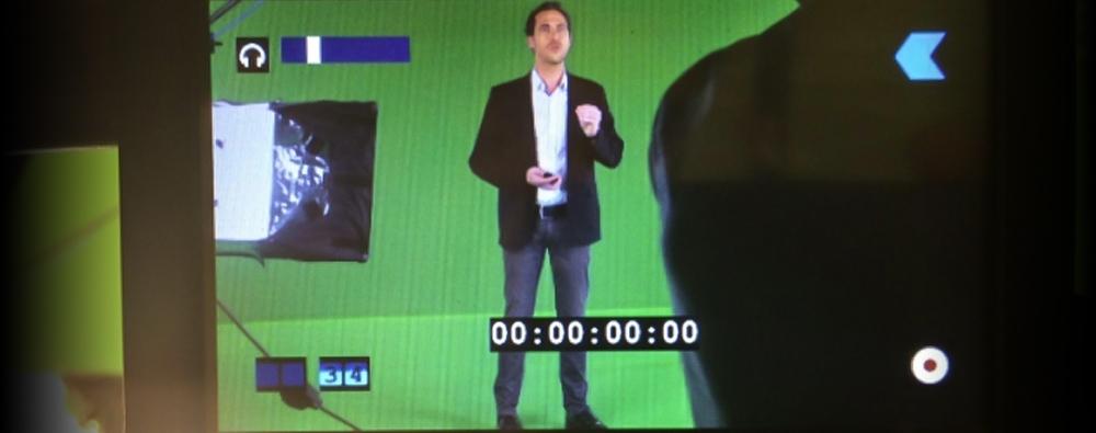 Exemple de tournage par l'agence Quintesis
