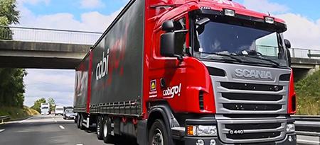 Camion de transport Cobigo