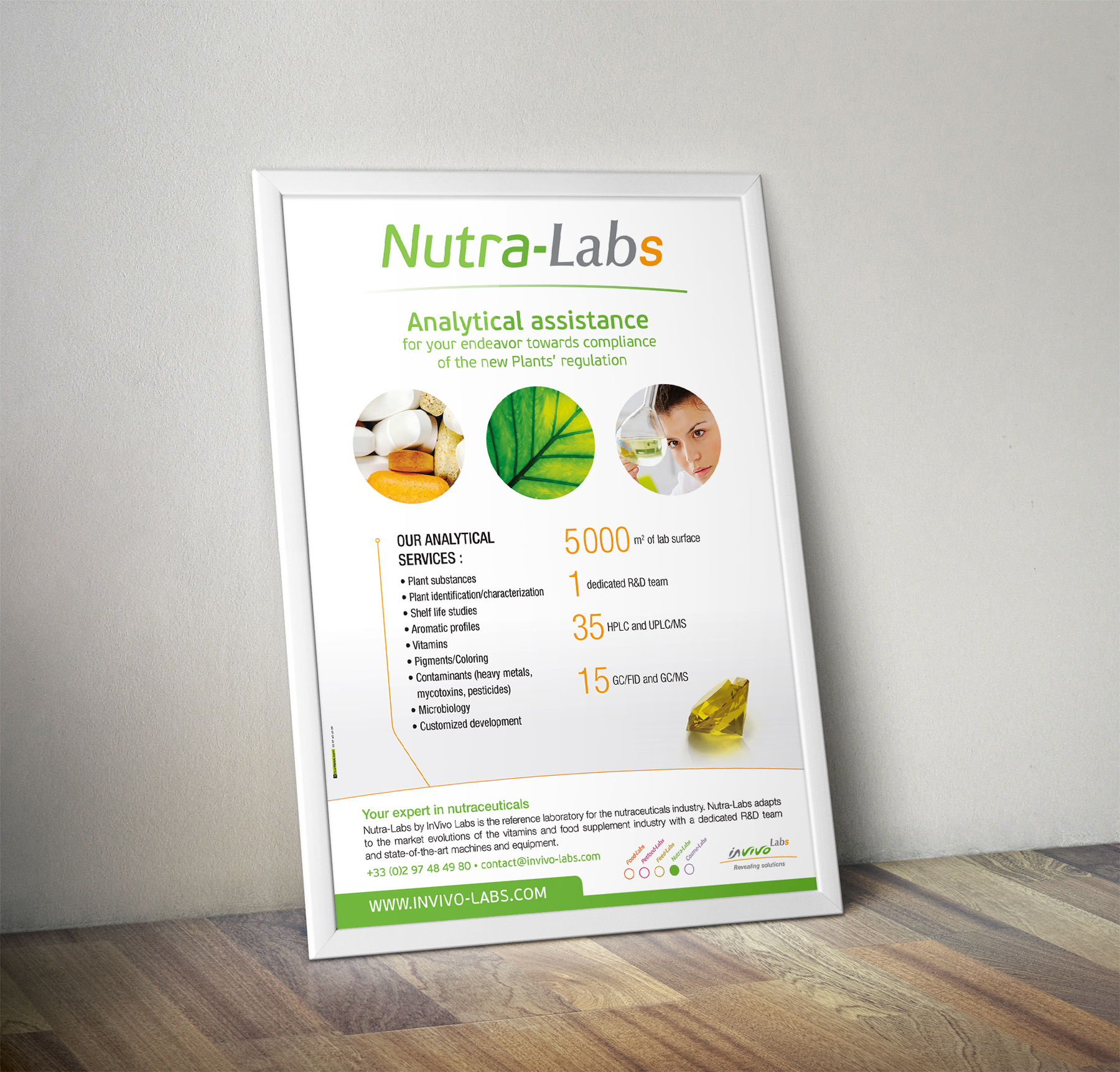 Poster Nutra-Labs