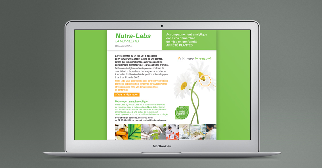 Emailing Nutra-Labs