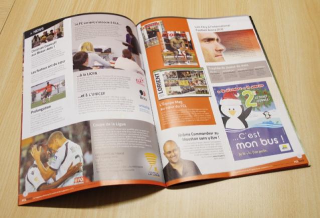Page intérieure du nouveau FCL Mag'