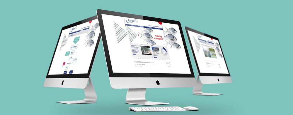 Site internet pour Aquativ