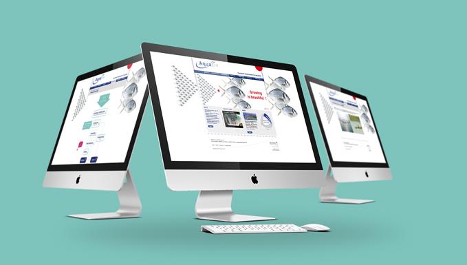 Site internet pour Aquativ - Diana