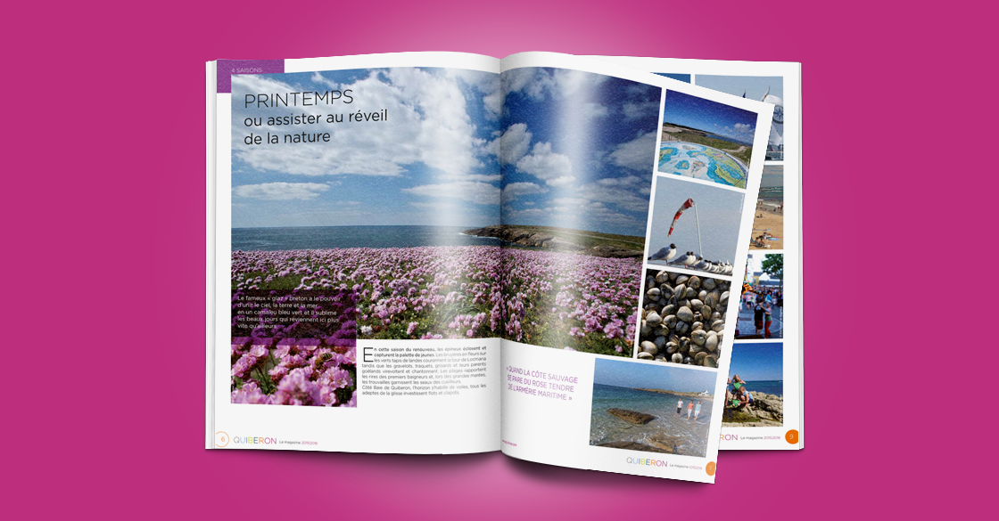 Quiberon Magazine pages interieures