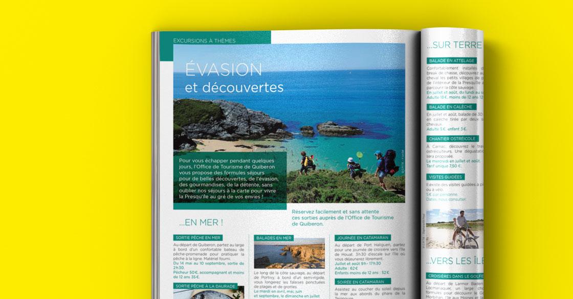 Quiberon Magazine page excursions