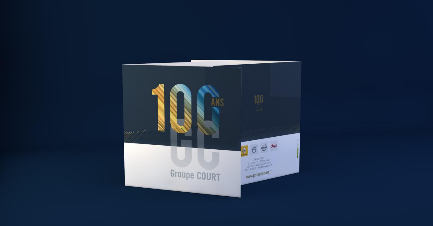 100 ans du Groupe Court