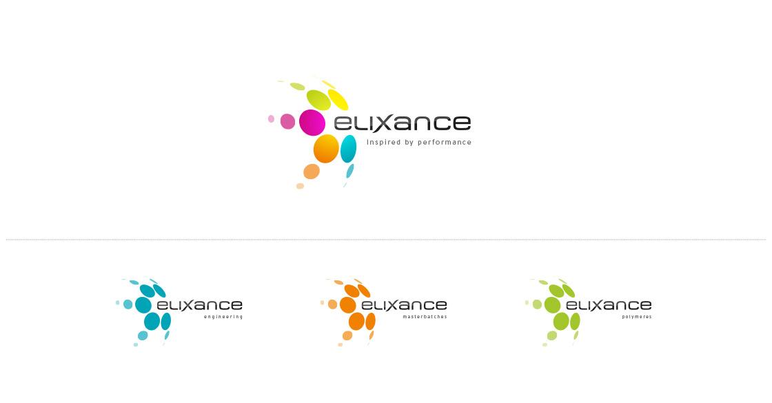 Déclinaisons du logo Elixance