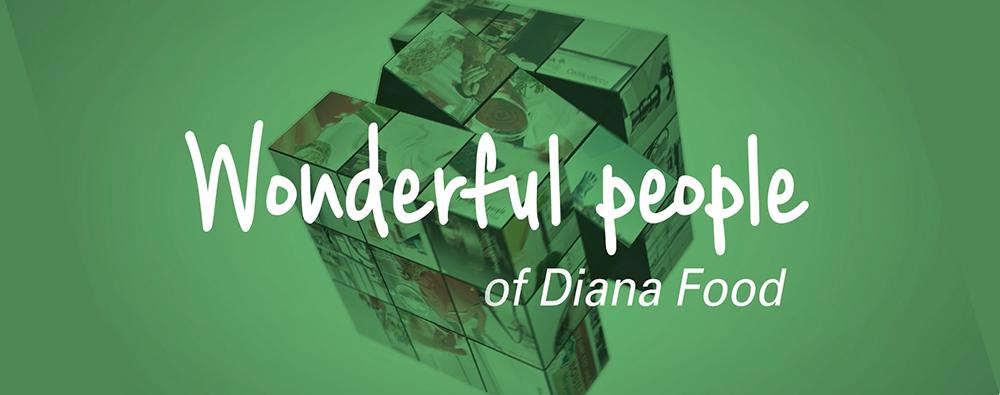 Charte graphique du projet pour Diana