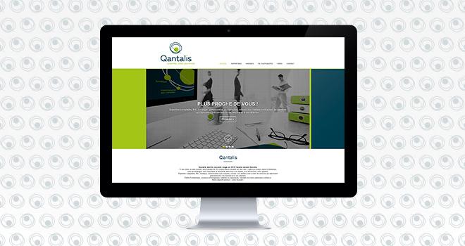 Site web pour Qantalis