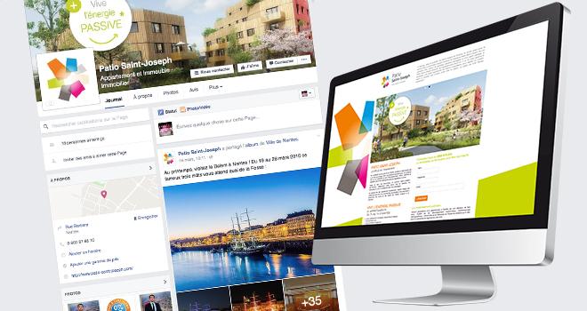 Site internet et page Facebook du Patio Saint-Joseph