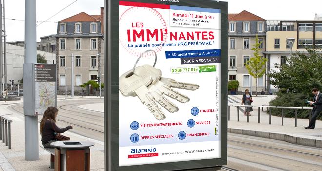 Quintesis réalise Immi'Nantes, une opération ciblée pour Ataraxia
