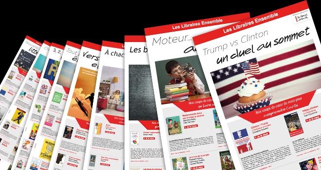 Newsletters thématiques Les Libraires Ensemble