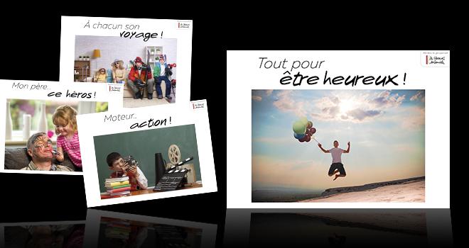 affiches des newsletters thématiques Les Libraires Ensemble