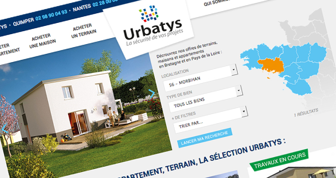 Nouveau site internet Urbatys
