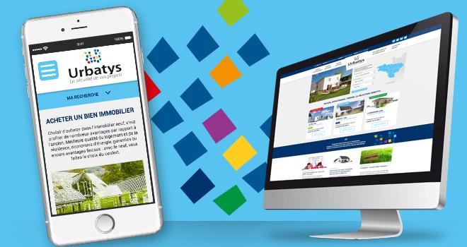 Nouveau site internet Urbatys + sa version site mobile