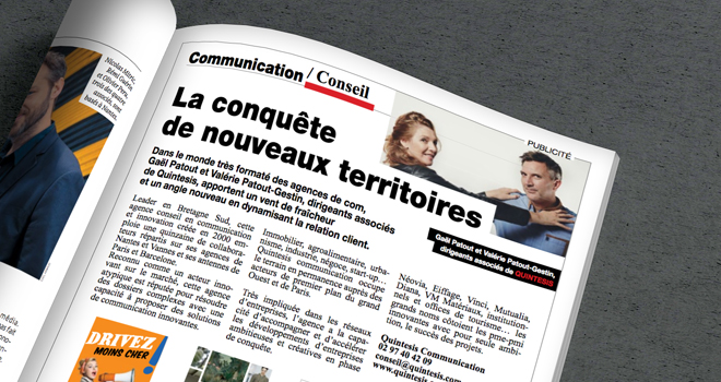 Valérie Patout-Gestin & Gaël Patout à la conquête de nouveaux territoires !