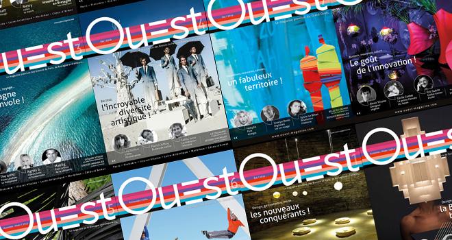 Ouest Magazine, un support créé et édité de A à Z par Quintesis