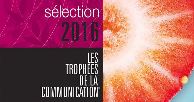 Quintesis est récompensée aux Trophées de la Communication 2016