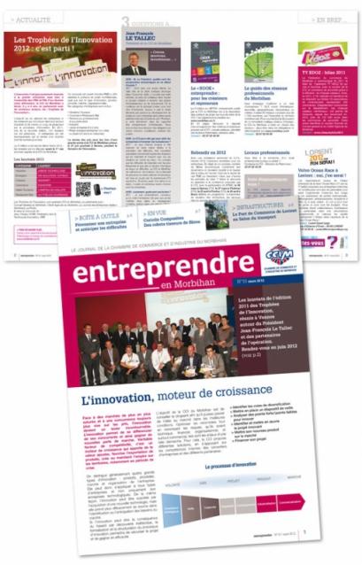 Entreprendre dans le morbihan conseil communication innovation quintesis - Chambre de commerce morbihan ...