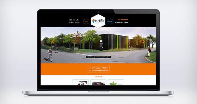 Site internet Edifiz