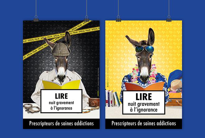 Campagne d'affichage Polar et Été 2017 - Libraires Ensemble