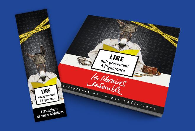 Catalogue et marque-page opération Polar 2017 - Libraires Ensemble