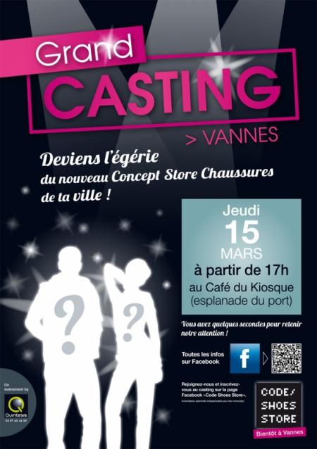 Quintesis lance un grand casting à Vannes pour Code Shoes Store