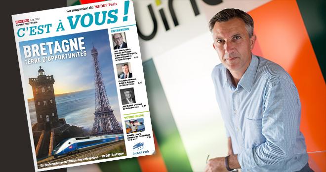 Medef Paris, numéro spécial Bretagne, Quintesis prend la parole