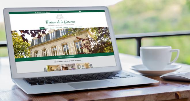 site internet Maison de la Garenne