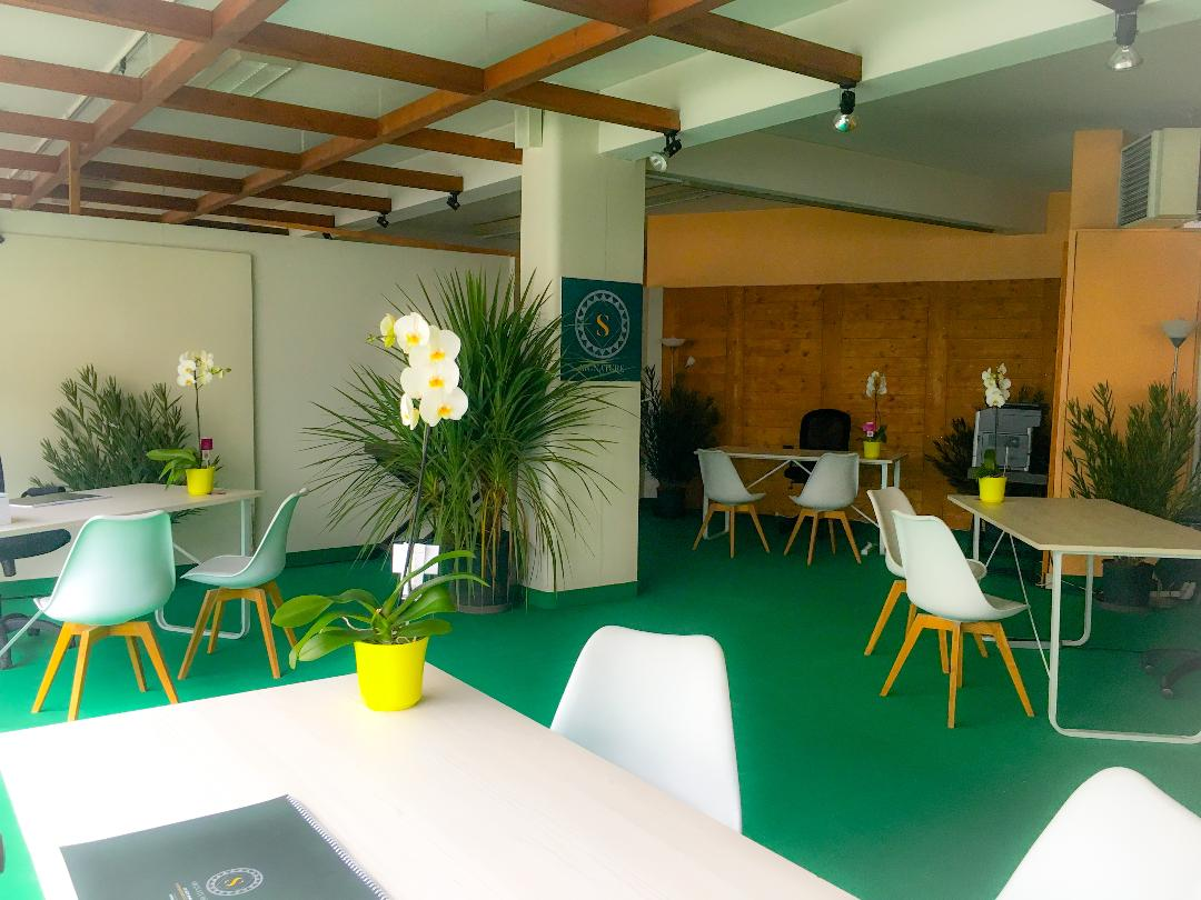 Espace bureaux pour l'équipe Bouygues Immobilier