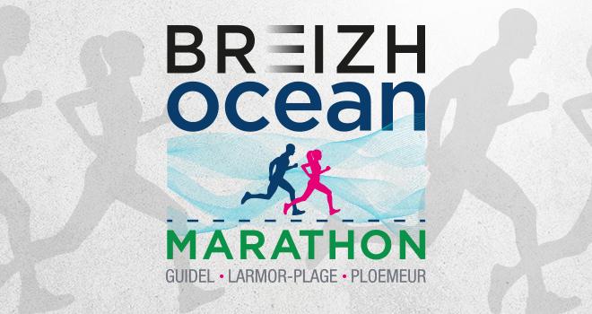 Logo Marathon Breizh Océan