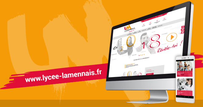 Site internet lycée La Mennais