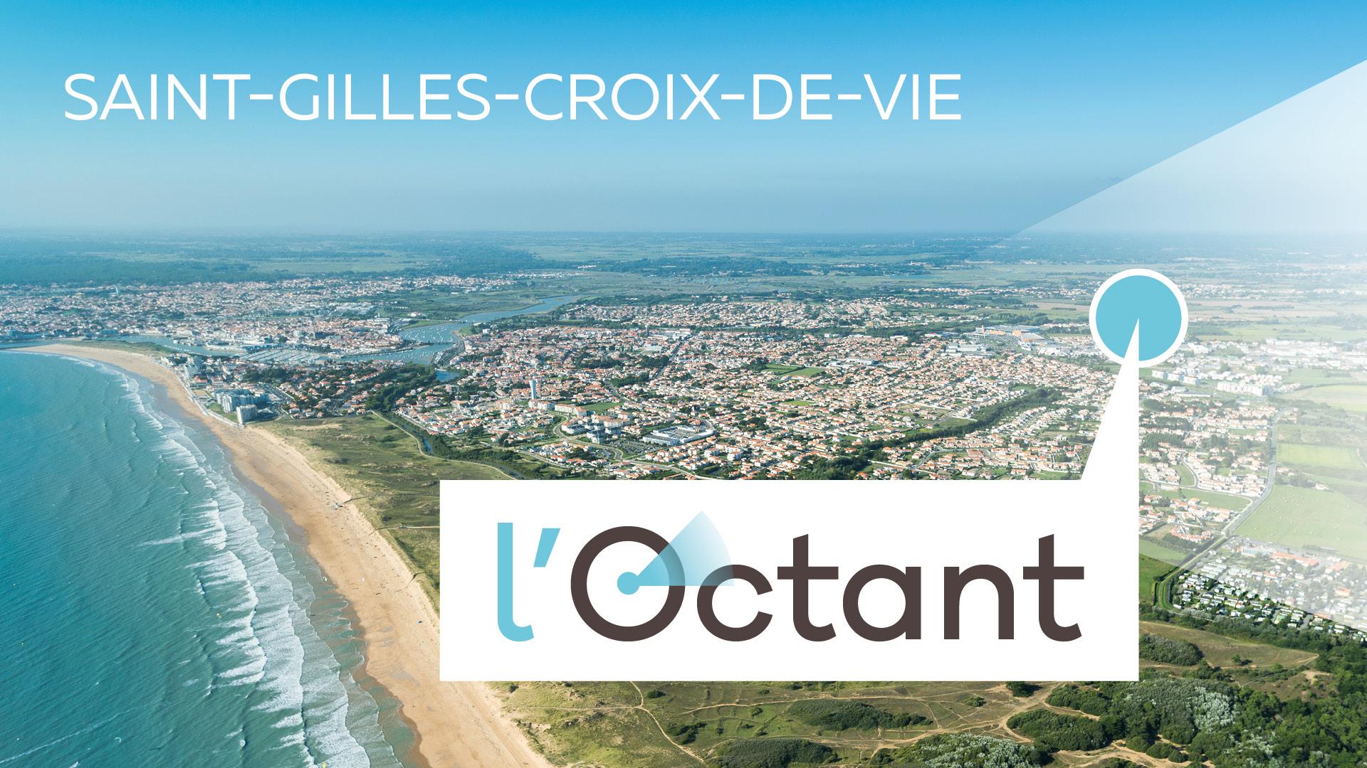 Vue panoramique Saint-Gilles-Croix-de-Vie