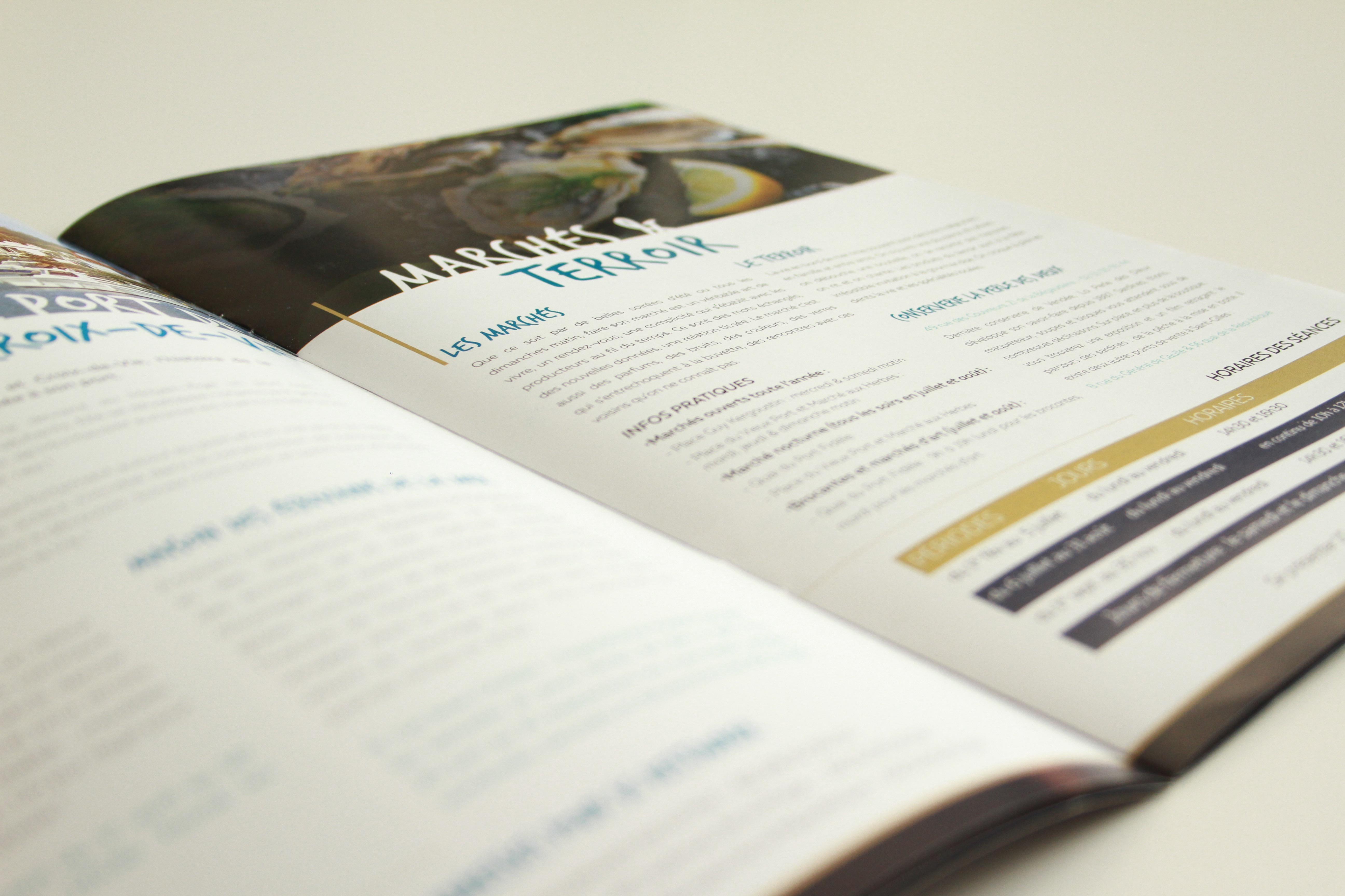 Pages intérieures du magazine L'Octant