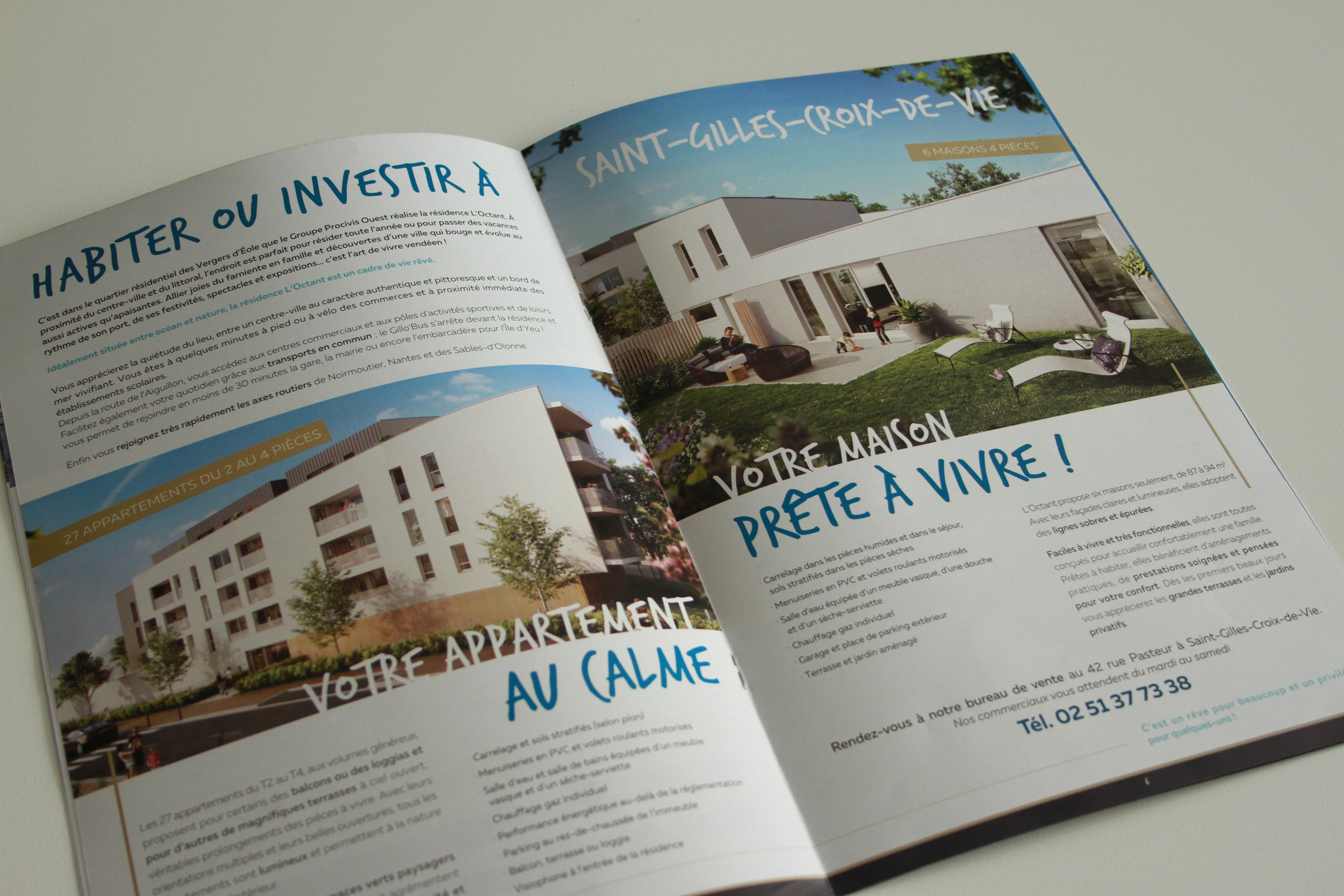 Double page du programme L'Octant