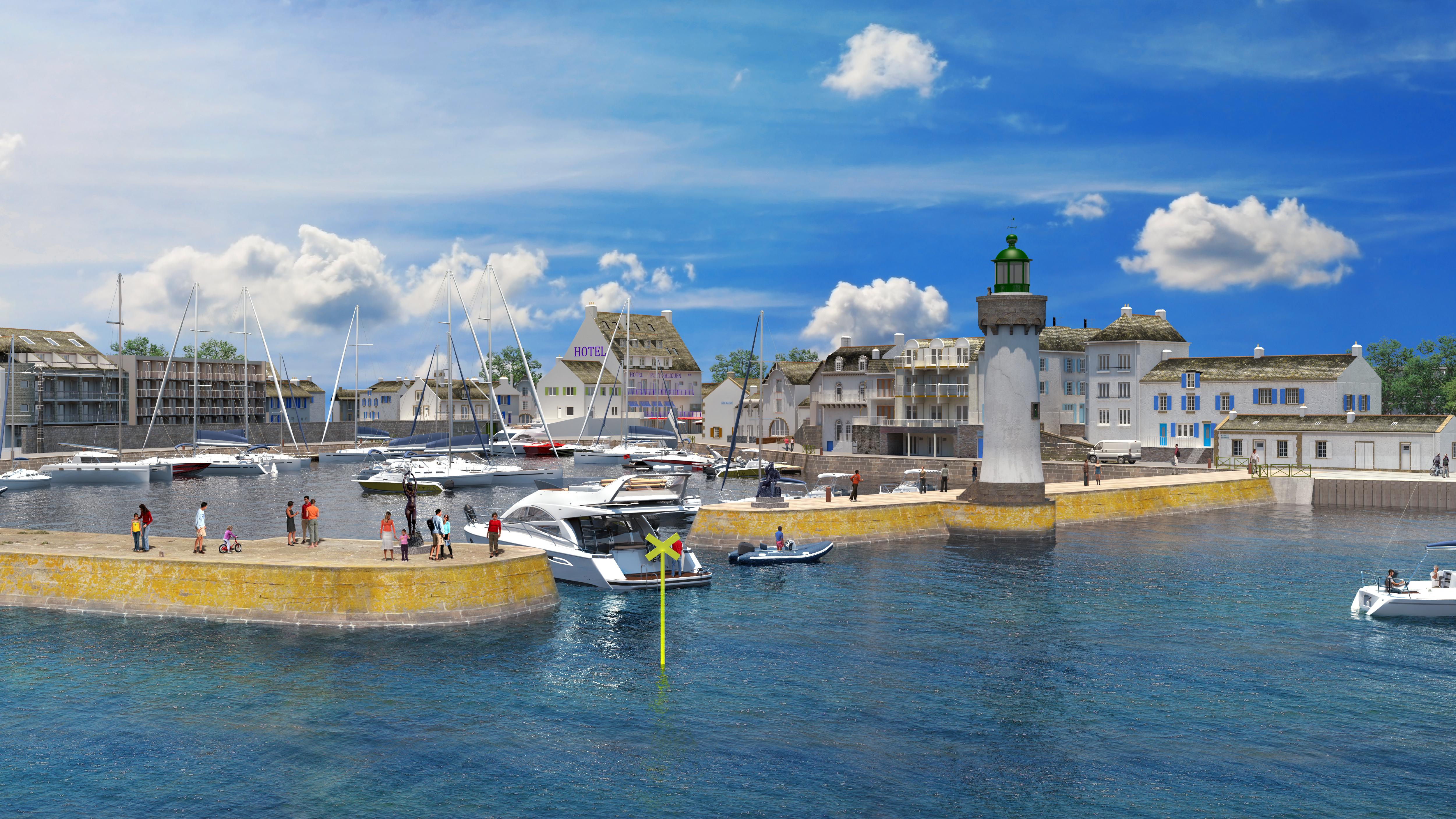 Port Haliguen Quiberon, un nouveau port, une nouvelle histoire !