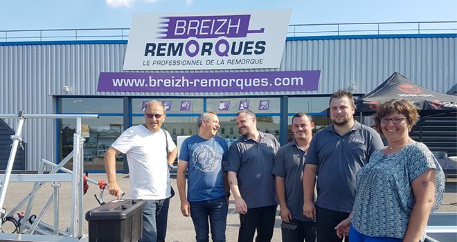 Inauguration Breizh Remorques