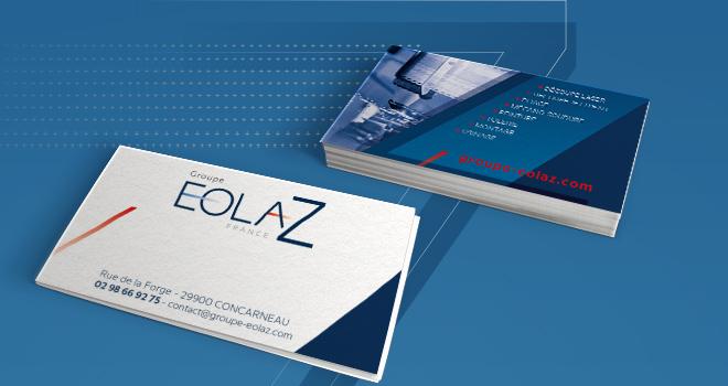 Carte de visite EOLAZ