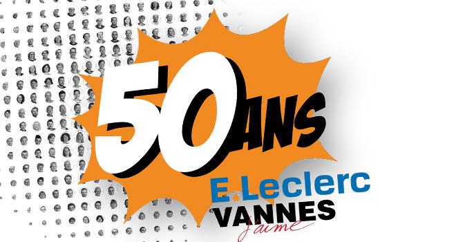 Identité Visuelle 50 ans Leclerc