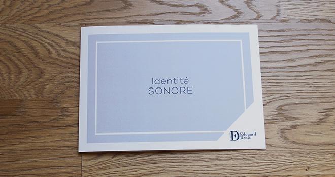 Création d'une identité sonore pour le Groupe Edouard Denis