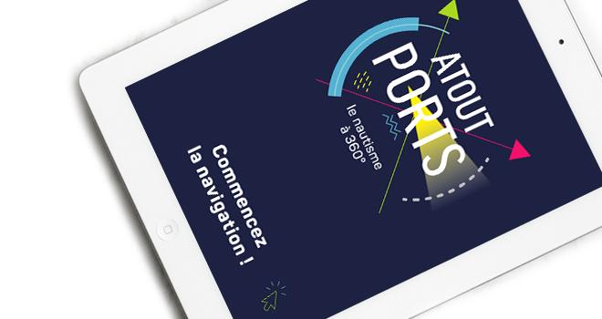 Atout Ports - Plaquette digitale