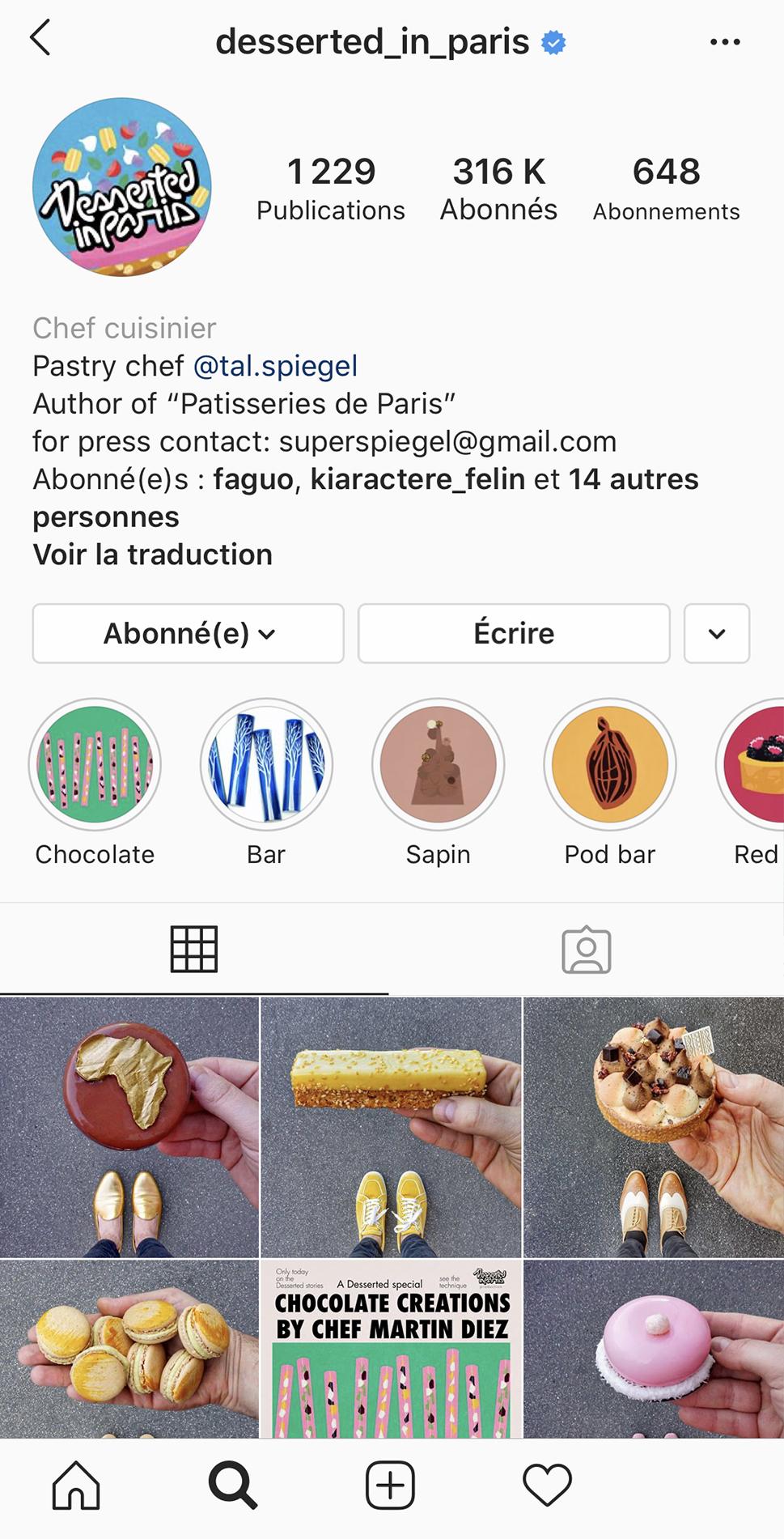 Desserted in Paris