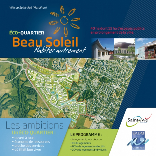 Saint-Avé et EADM récompensés pour le projet Beausoleil