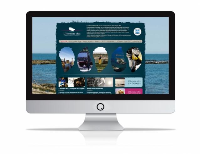 Site internet pour l'Hermine 1875
