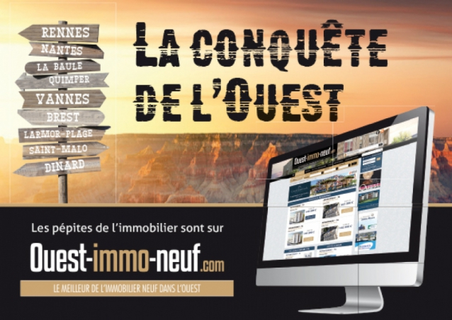 Annonce-presse pour Ouest Immobilier Neuf