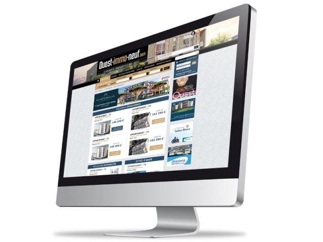 Site internet Ouest Immobilier Neuf