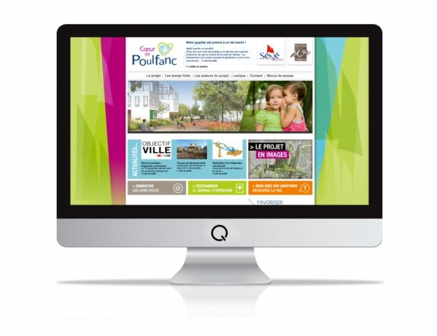 Site internet Cœur de Poulfanc