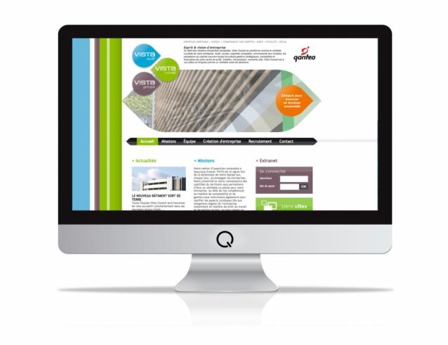 Site internet Vista Conseil