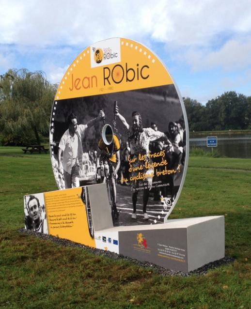 Installation pour le circuit Jean Robic