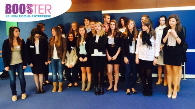 Equipe des étudiants du projet Booster